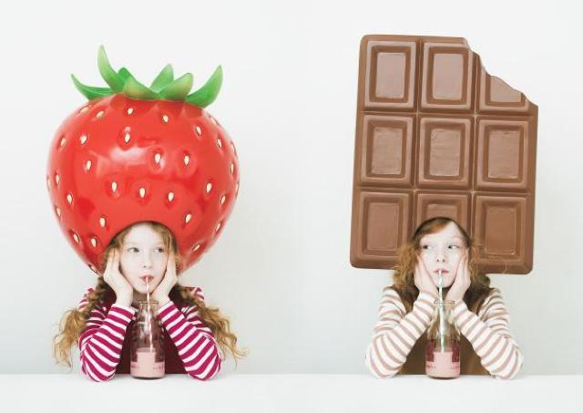 阪神梅田、今年のバレンタインはイチゴ×チョコです。