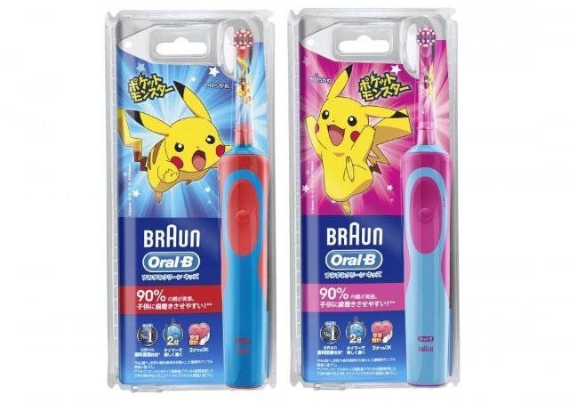 磨くたびポケモンに会える! WEBと連動、楽しく歯磨きできる子ども用電動歯ブラシ