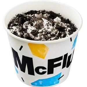 どこを食べてもオレオだらけ...! マックフルーリー「超オレオ」増量ザックザクで登場。