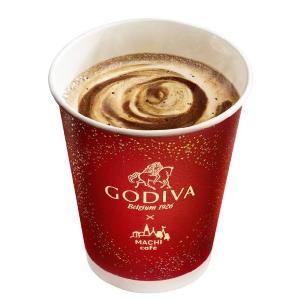 ローソン×GODIVAホットドリンク第2弾! 今回は「ショコラカフェ」だよ~。