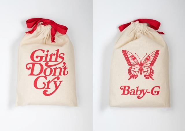 「Girls Don't Cry」特製アイテムをプレゼント 「BABY-G」コラボキャンペーン