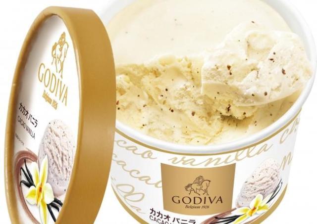 濃厚バニラにカカオが...。 ローソンで買える「ゴディバアイス」は必食。