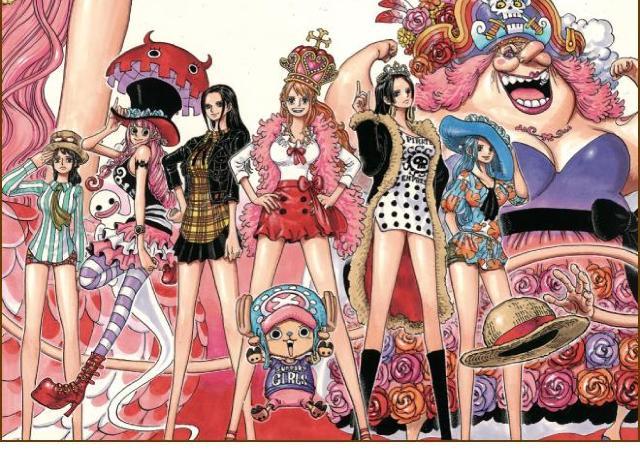 大人気漫画「ワンピース」と「東京ガールズコレクション」のコラボカフェ