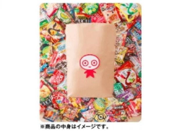 これ欲しい...。 米袋で届くUHA味覚糖のおかし福袋。