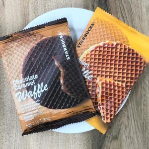もうやってみた? スタバのチョコレートキャラメルワッフル、ひと工夫でおいしくなるよ~。