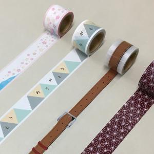 便利で可愛い! 貼ってはがせる×耐水×マステみたいなデザインの養生テープ。