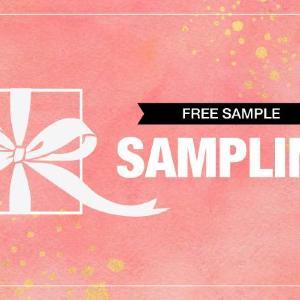 三幸製菓のお菓子、無料配布するよ~。 全国14か所でサンプリング。