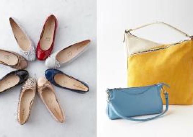 春に使いたい靴とバッグを探しにきて。