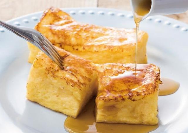 高級食パン「MIYABI」の限定フレンチトースト 新店舗で召し上がれ。