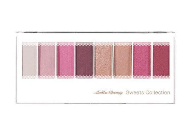 「ピンク好きなら捨て色なし」 マリブビューティーの8色パレットは絶対チェックね。