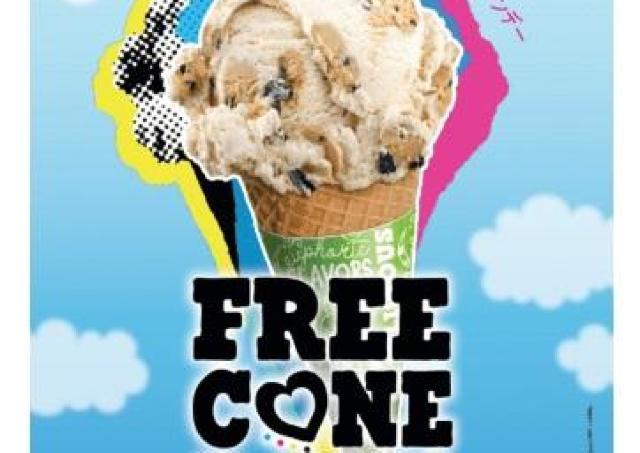 アイスを無料提供! ベン&ジェリーズ恒例の「フリーコーンデー」やるよ~