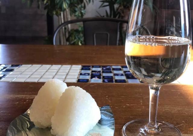 塩にぎりにワイン...?異色の組み合わせを楽しもう!