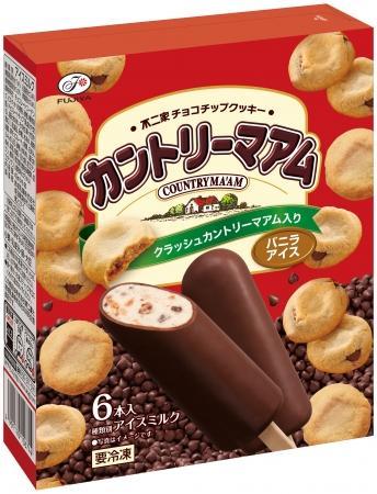 カントリーマアムの箱アイス出た〜! パクパク食べちゃいそう。
