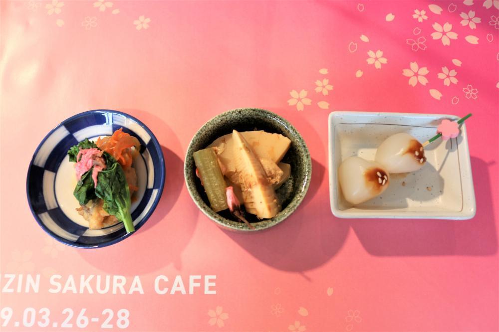 ワンコインでお腹いっぱい。 桜づくしの「RAIZIN SAKURA CAFE」で、花も団子も楽しんできた!