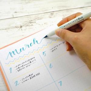 大人買い続出の美色「筆マーカー」。 書きやすい、穂先のコシが秀逸