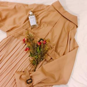 美シルエット、華奢見え... 「titivate」のバッグプリーツコートはマスト買い!