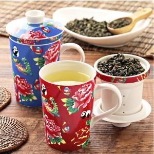 売切れ必至! カルディのレトロ可愛い「茶こし付きマグカップ」は今すぐゲット。