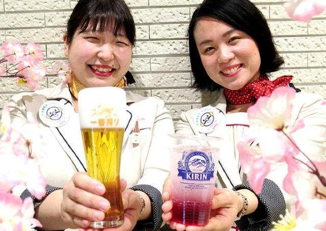 キリンビール工場見学でオシャレなアレンジドリンク飲んでみて。