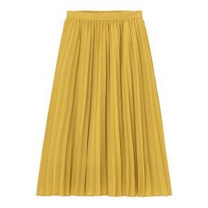 春のおでかけにぴったり。 色も形も可愛いGUの「優秀スカート」はゲットした?