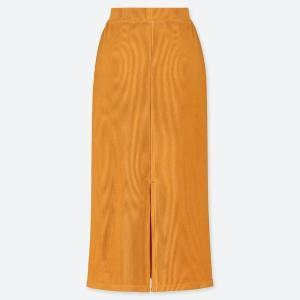 細見えなのに動きやすい。 ユニクロの最強スカートは今のうちにゲットして。