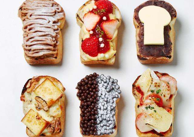もはや食べるアート。「食パン愛」にあふれたフェア開催!