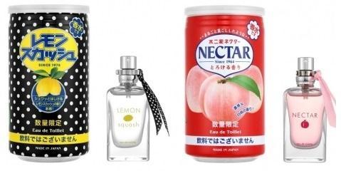 気になる...。 不二家「ネクター」と「レモンスカッシュ」の香水、爆誕。
