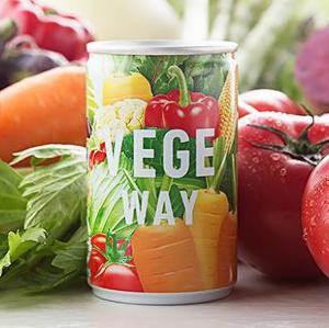 【特集プレゼント】野菜たっぷり飲むサラダ「VEGE WAY(ベジウェイ) 160g×20缶」(3名様)