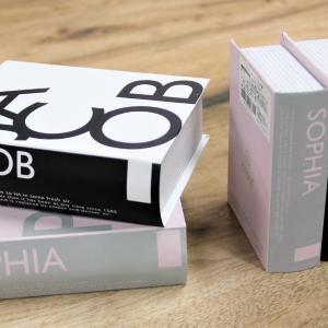 売切れ続出! 100円「ブック型収納ボックス」が生活感をオシャレにカバー。
