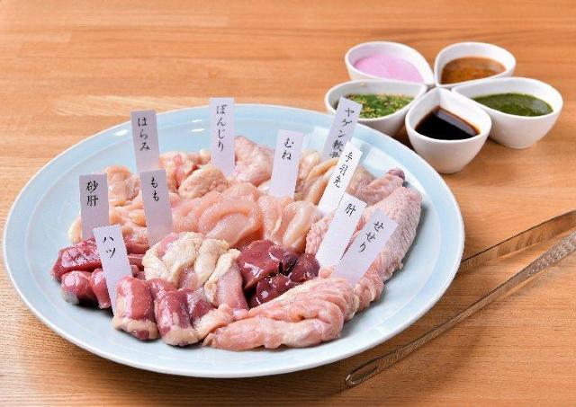 たんぱく質たっぷりな鶏肉を。焼肉屋がオープンするよ~。