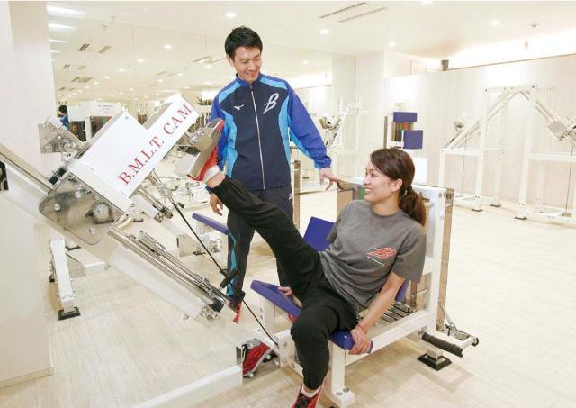体への負担が少ないトレーニングができる専用ジム誕生。