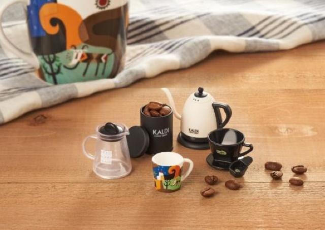 やばカワ!!カルディの非売品フィギュア、コーヒー買うともらえるぞ!!