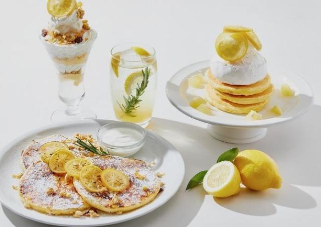 初夏の爽やかな空気とともに「レモン」スイーツをお届け。