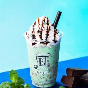 飲むチョコミント! PABLOの夏限定スムージーがよさげ。