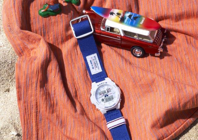 トリコロールカラーが可愛い! 「BABY-G」25周年スペシャルモデル誕生。