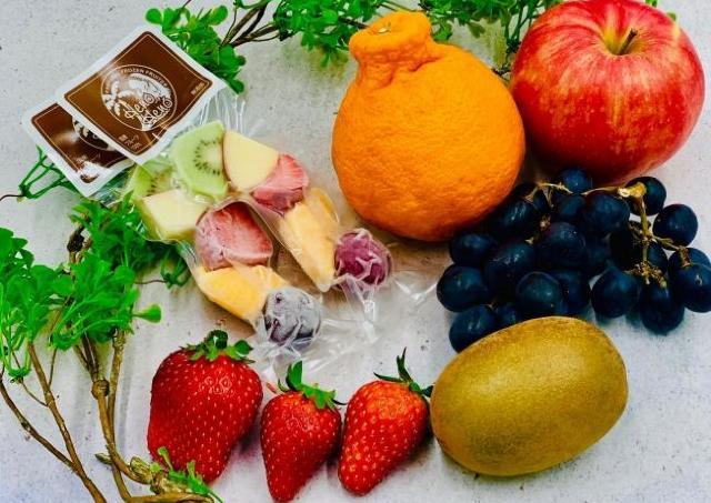 純国産の無添加のフローズンフルーツが250円。 おやつはナチュロで決まり!
