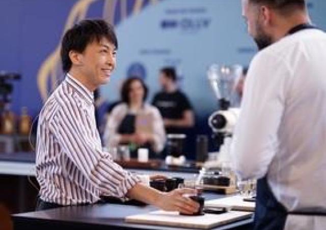 バリスタ日本一に輝いたゴッドハンドのコーヒーを味わって!