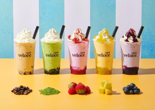 ソフトクリームをまぜまぜ......夏に飲みたい新感覚シェイク出たよ~。
