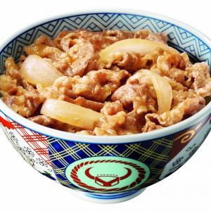 吉野家がテイクアウト限定80円引きセール! 牛丼並が300円で食べれるよ~。