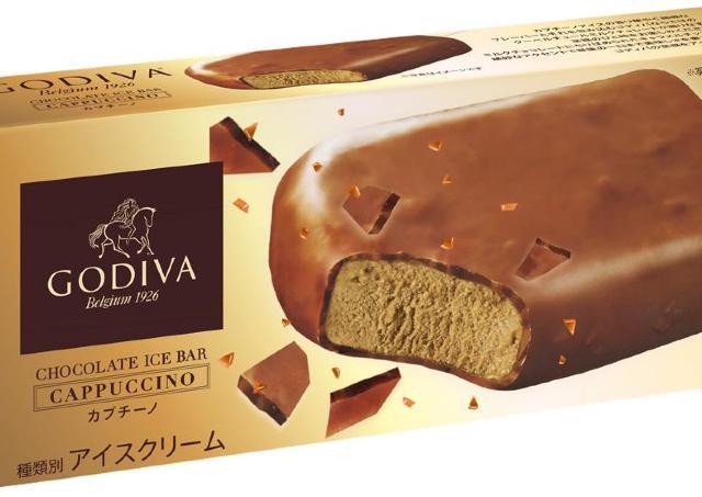 カプチーノの贅沢な香り...ゴディバ新作アイスは絶対食べなきゃ。