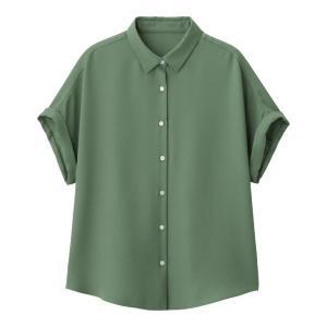 オフィスでも大活躍! GUのエアリーシャツがヘビロテしたくなる可愛さ。