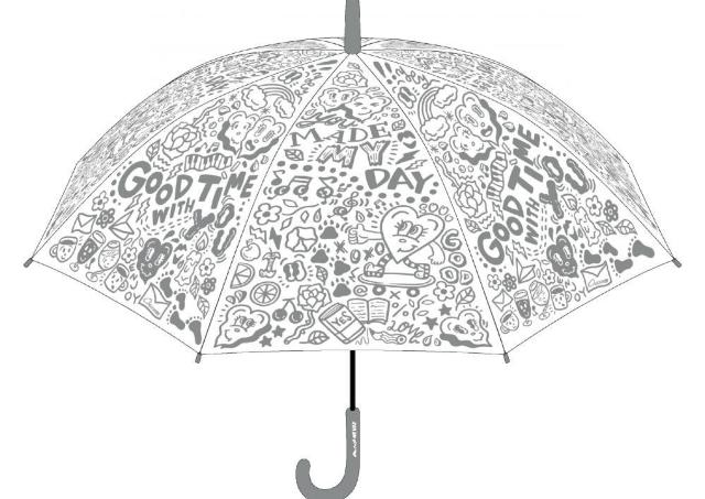 ファミマでオシャレ傘買えるよ~。 人気イラストレーターとのコラボ