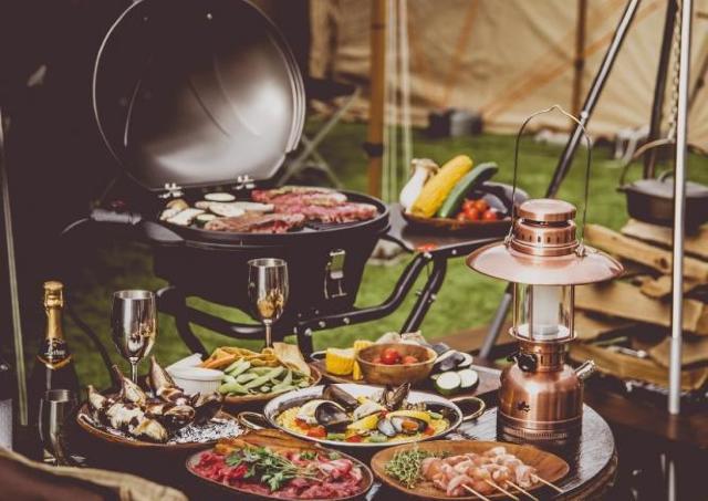 これぞキャンプ、これぞBBQ。北海道の夏を満喫だ~!
