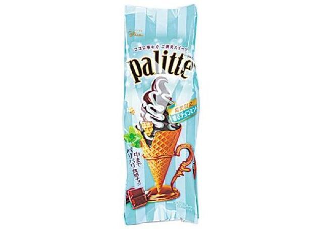 またまたローソンにチョコミントおやつ登場。今度はアイスとキャンディだよ~。