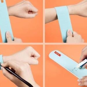 これ超便利じゃん! 手首に巻ける最強の「メモ」見つけた。