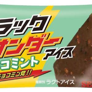 ブラックサンダーアイスにお待ちかねのチョコミント。美味しいに決まってる。
