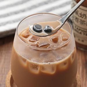 今度は「タピ酒」。 タピオカミルクティーがお酒になったよ。数量限定で発売中~