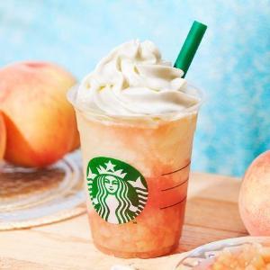 「今年はガッツリ桃!」「めちゃウマ」 スタバの桃フラペに反響続々!