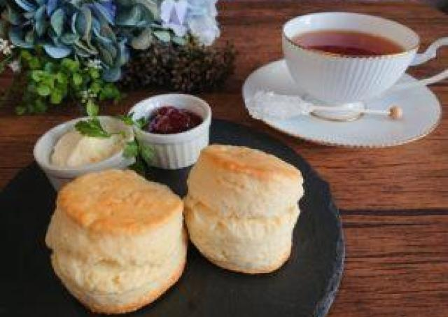 紅茶を飲みながら仲間作り。「大人小町モーニングカフェ会」