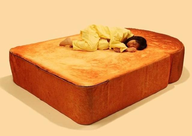 最高の1枚撮れそう。 食パンベッドがある「パン祭り」これは行くしか!