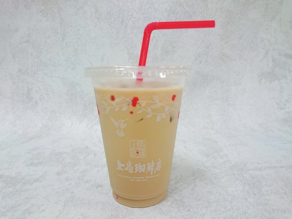 上島珈琲店の「ミルク珈琲(黒糖)」(アイス)